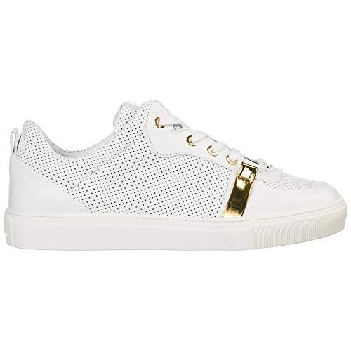 1d0eb44d8a52f Versace Collection Herren Sneaker Bianco - Bianco - ORO 41 EU