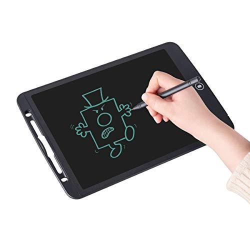 Upgrow LCD Writing Tablet, 12 Zoll LCD-Schreibtafeln, Grafiktabletts Schreibplatte Digital Schreibtafel Schreiben Tablette für Kinder Schule Graffiti Malen Notizen, mit Schutztasche (Schwarz)