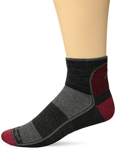 Darn Tough Vermont Herren 1/4 Merino Wolle Ultraleichte Athletic Socken, Herren, Team DTV, M