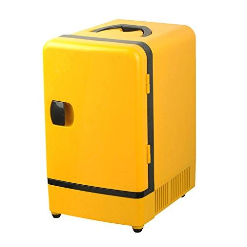 Mini-Kühlschrank mit Gefrierfach Auto Kühlschrank - 7L Auto Heizung und Kühlung Kühlschrank Auto Home Dual-Use Mini stille tragbare Student Schlafraum Kosmetik Brust Milch gekühlt Heizung und Kühlbox - Mit Kühlschrank Gefrierfach Brust,