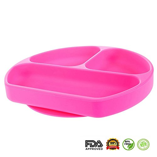 Useful and colourful plate for toddler