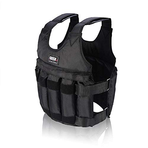 Yosoo 44lb/20 kg Weighted Vest Workout peso