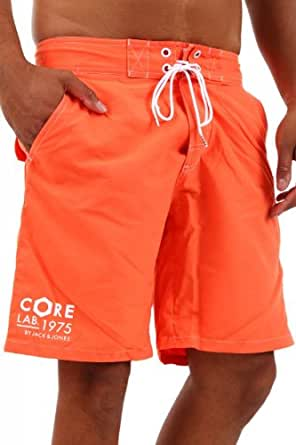 jack jones herren badeshorts graphic swim shorts 12065921 vermillion orange xxl. Black Bedroom Furniture Sets. Home Design Ideas
