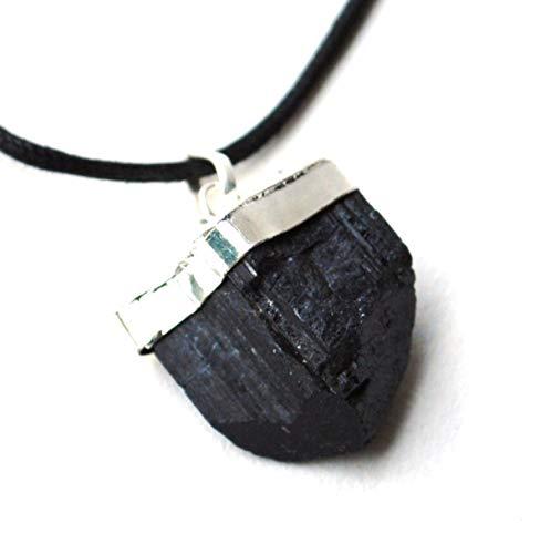 Colgante de turmalina negra cargado de energía...
