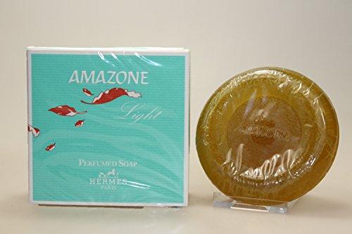 Amazone Light by Hermes for Women, 3.5 oz 100g Perfumed Soap Seife - Hermes Seife