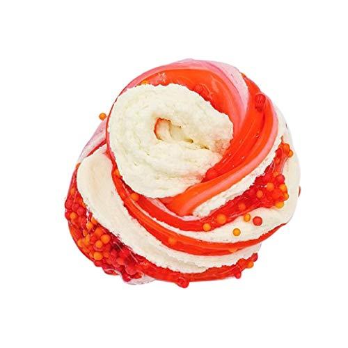 Farbabstimmung Kristall Plastilin DIY Puff Puzzle Dekompressionsventil,Jaerio Schöne Farbmischung Puff Slime Kitt Duftstoff Kids Clay Toy 61ml
