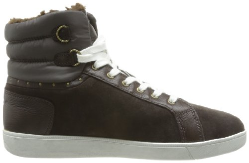 Geox D Hope Abx M, Baskets mode femme Marron (Coffee)