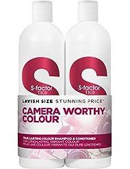 TIGI S-Factor True Lasting Colour Shampoo and Conditioner Tween Duo 2 x 750ml by TIGI