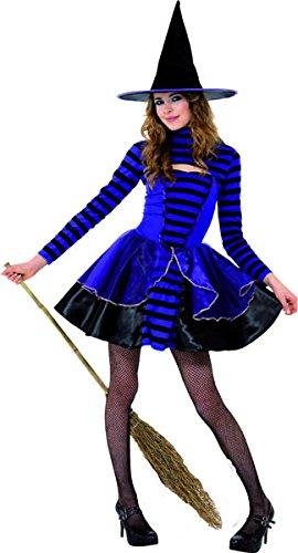 hen Dunkle Fee Kostüm, Kleid und Bolero, Größe: T (Alter 12+ Jahre), 21413 (Scary Halloween Kostüme Für Jugendliche)