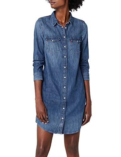 Levi's Damen Kleid Ultimate Western Dress, Blau (San Francisco Medium 2 4), X-Small
