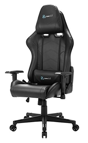 Newskill Kitsune – Silla gaming profesional, color negro