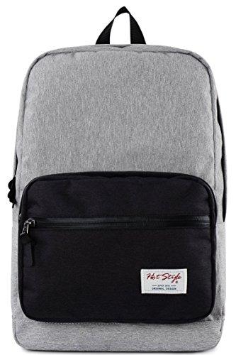 Imagen de hotstyle 915s mono  colegio 24l  impermeable para portatil de 15 inch  gris/negro alternativa