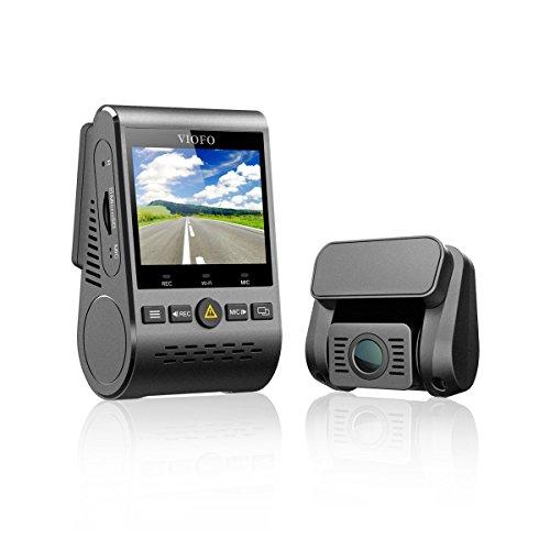 VIOFO Autokamera Dash Cam A129Duo Duale HD 1080P Kamera GPS Full HD Dash Kamera Dash-Cam WI-Fi Sensor IMX291 Auto DVR (A129Duo mit GPS) Pip Hd-lcd-display