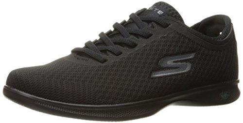 Skechers Ladies Go Step Lite-interstelllar Sneaker Black (mesh)