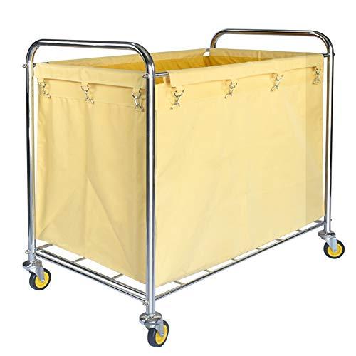 HYDT Carrito lavandería Carro Amarillo clasificadores