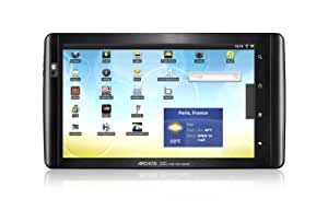 Archos 10.1 Internet Tablet 16GB, 25,65 cm (10.1 Zoll) (Kapazitiv-Multitouch Display, Android 2.2 Froyo, 1 GHz Prozessor, WiFi, Flash Support, 360° Lagesensor, HDMI, USB 2.0)