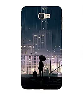 PrintVisa Peace of Mind 3D Hard Polycarbonate Designer Back Case Cover for Samsung Galaxy On Nxt