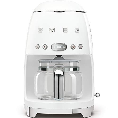 Smeg DCF01WHEU Filterkaffeemaschine, Weiß