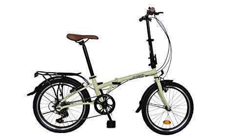 Bicicleta de ciudad pleglable ECOSMO 6SP -