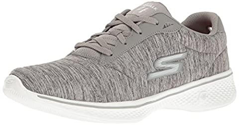 Skechers Damen Go Walk 4 Sneakers, Grau (Gry), 38 EU