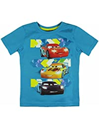 Disney Cars Lightning McQueen Kinder Kurzärmeliges T-Shirt Blau