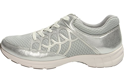Donne Sneaker Gabor Sport 64.350.43 grigio / ghiaccio / argento grau