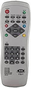 Sharp Plus HYUNDAI 7IN1 CRT TV Remote (SP) (Silver)