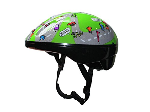 la-sports-junior-kids-childs-boys-or-girls-green-cycling-bike-helmet-with-adjustable-headband-for-a-