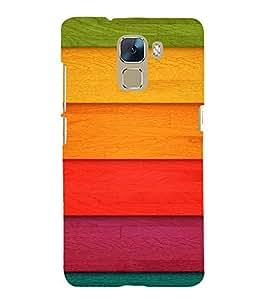 Fuson 3D Designer Mobile Back Case Cover For Huawei Honor 7 Dual SIM / Huawei Honor 7