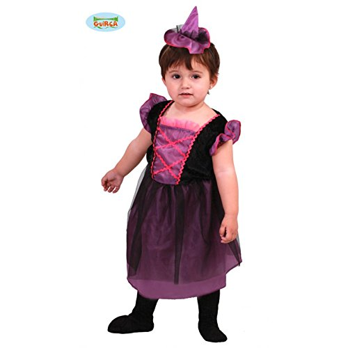 süße kleine Baby Hexe Kostüm für Mädchen Gr. 86-98, (Kleinkind Hexe Kostüm Böse)