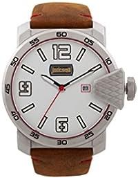 Just Cavalli Reloj Analógico para Hombre de Cuarzo con Correa en Cuero JC1G015L0015