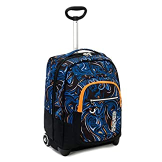 41t0bpqlm L. SS324  - Seven Trolley Fit Seven Wildy Boy Trolley para portátil 48 Centimeters 35 Azul (BLU)