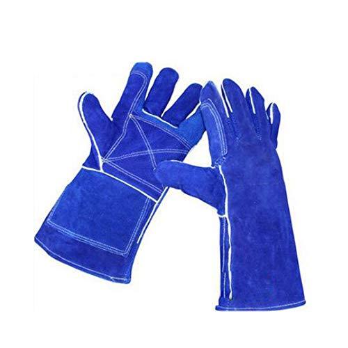 GG-gloves Leder SchweißhandschuheWärmebeständigkeit Anti-Scratch Cut Resistant/Perfekte Wahl der Blockierung Hitze und schützen Sie Ihre Hände Cut Resistant Leder