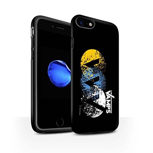 Offiziell The Vamps Hülle / Matte Harten Stoßfest Case für Apple iPhone 8 / Pack 6pcs Muster / The Vamps Graffiti Band Logo Kollektion VVV