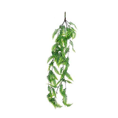 CTGVH Künstliche Hängepflanzen, künstliche Blätter, Rattan, Dekoration für Drinnen und...