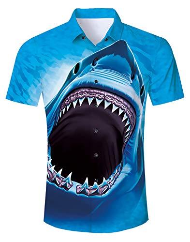 Kostüm Herren Shirt Für - Idgreatim Herren Hemden Freizeithemd Ursprüngliche Männer Freizeit Kurzarm Button Down Hemden Shirt Kostüm