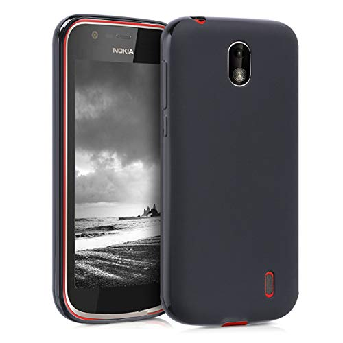 kwmobile Nokia 1 Hülle - Handyhülle für Nokia 1 - Handy Case in Schwarz matt
