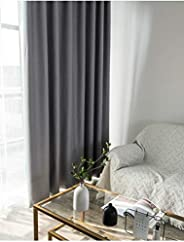 Blackout Curtain For Bedroom,Thermal Full Shading,Safty Enviromental Protection Curtains 2 Pieces