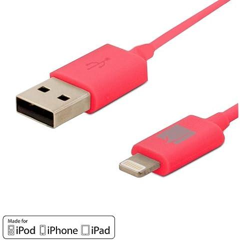 GreatShield® (6 pies/1.82m) de Apple MFi Licencia Rayo carga y sincronización Cable para Apple iPhone 6/6 Plus, iPhone 5/5S/5C/SE, iPad Pro 9.7