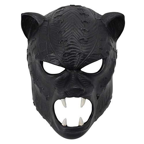 Kostüm Panther Hunde - Wsjfc Halloween Maske Helm Harz Maske Marvel Movie Black Panther Maske Vollgesichtsmasken verkleiden Sich Persönlichkeit Requisiten Masken