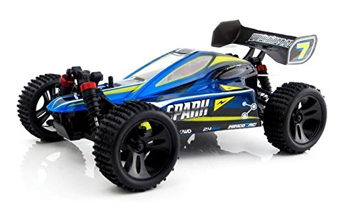 Ninco4RC Spark Buggy xB16 2.4 GHz RTR 1 : 16, Couleur Bleu (Ninco nh93051)