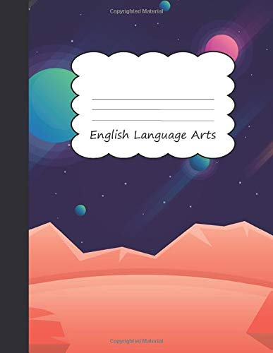 English Language Arts: Planets Pre-K Draw & Write Notebook Half Sketch Book & Dotted Handwriting Dashed Lined Journal Paper | Galaxy Astrology ... & Storytelling | Writing Pad Sketchbook