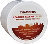 Natural Chambers Leather Balsam Conditioner and Restorer 200ml Suitable for All Smooth Leather, Perfect for Aniline Leather Sofas