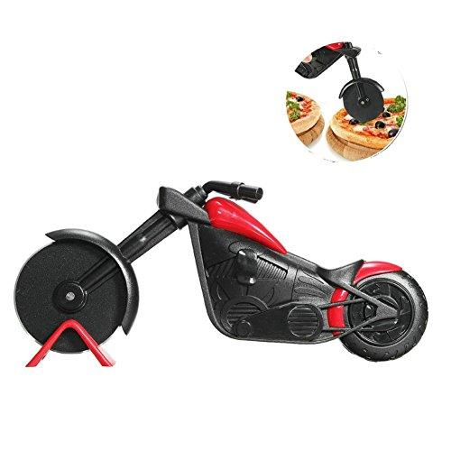 GuDoQi Pizzaschneider und Motorrad Pizzaschneider