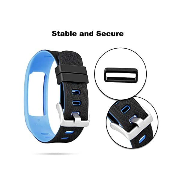 WADEO Impermeable Bluetooth Fitness Tracker Pulsera Reloj Pulsera Inteligente Banda de Repuesto Ajustable Sport… 4