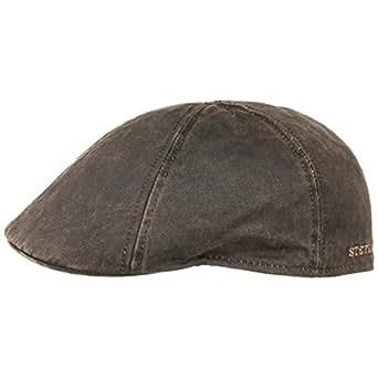 Level Gatsby Cap Stetson cappello piatto cappello piatto S/54-55 - marrone