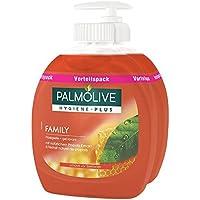 Palm de higiene de olivo de Plus Family–Jabón líquido ventaja Pack, 6pack (6x 300ml)