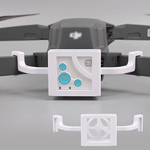 Flycoo RF-V16 GPS Tracker Tracer Locator Halterung Halterung für DJI Mavic Pro Drone Zubehör (Weiß) Gps-pro Mount