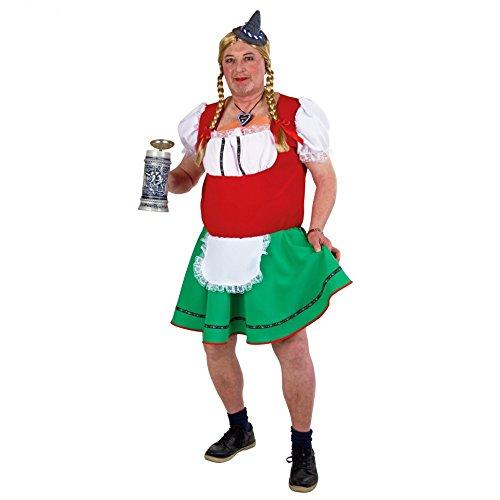 Karnevalkostüm Herren-Dirndl -Liesl-, Größe: 56/58 (1 Ding Billig Ding Kostüme Und 2)