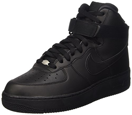 Nike Herren Air Force 1 High '07 Turnschuhe, Schwarz